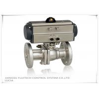 Double Action Stainless Steel Motorized Ball Valve / Two Piece Ball Valve Manufactures