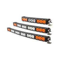 Hanka Superior Quality Single Row 10W CREE Curved Version IP67 Off Road Led Light Bar For Car Manufactures