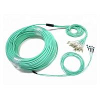 Buy cheap Customized 48-96 Fiber Optic Patch Cord OM4 MTP/MPO 3 Meters With LC Connector from wholesalers