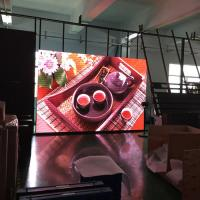 CE SMD1921 P3.91 Outdoor led display rental With Video Processor , Great Waterproof Manufactures