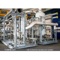 China UNITE Carbon steel natural gas filter separator for liquid and air separating on sale