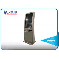Single Touch Screen Windows System Self Checkout Kiosk Free Standing In Restaurant Manufactures