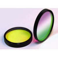 Optical Negative / Notch Colored Glass Filters For Biomedical Laser Systems Manufactures