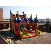 Outdoor Giant Inflatable Cartoon Character Digital Printing Lead Free Manufactures