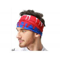 Soft Absorbent Tube  Multifunctional Headwear Sublimation Printing Polyester Manufactures