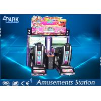 Indoor Car Racing Game Machine Coin Operated Outrun 32 Inch Screen For Children Manufactures