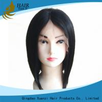 Buy cheap Silky Straight Full Lace Human Hair Wigs Long Lasting No Shedding No Tangle from wholesalers