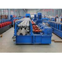 Highway Guardrail Roll Forming MachineElectrical Automatic Control 0 - 15000 mm / min Forming Speed Manufactures