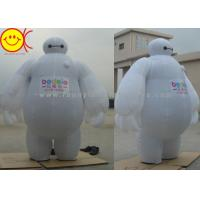 Baymax Mobile Inflatable Advertising Costumes Easily Folds Away For Compact Storage Manufactures