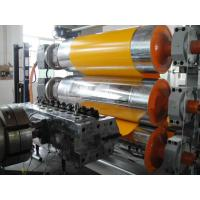 XPE / IXPE Thermal Foaming Plastic Sheet Extrusion Line With Siemens Motor Manufactures