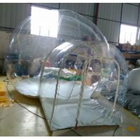 Hot Playing Center Customized Inflatable  Bubble Tent Commerical Clear Inflatable Tent Manufactures