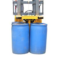 Quality Larger Size Eagle-gripper Drum Clamp Attachment 4 Drums Once for Transporting for sale
