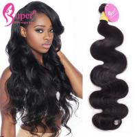 Natural Unprocessed Brazilian Virgin Hair Body Wave Super Double Drawn Manufactures