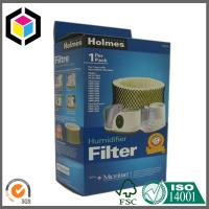 Blue Color Printing Custom Design Paper Carton Cardboard Packaging Box Manufactures