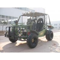 Hammer Style Green Go Kart Buggy , 150CC Kandi Two Seats Dune Buggy Manufactures