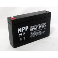 6V7ah Lead Acid Battery (ISO9001, ISO14001, UL, CE) Manufactures