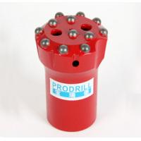 Tungsten Carbide Rock Drilling Tools Threaded Button Bits With T38 T45 64mm Thread Manufactures
