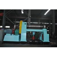W12-55X2500 4 Roller Pipe Bending Machine Drive By Hydraulic 600mm Top Roll Manufactures