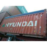 Red Second Hand 20ft Open Top Container For Maritime And Land Transport