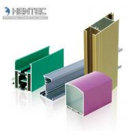 Powder Painted Aluminum Window Extrusion Profiles Chemical / Mechanical Polishing Manufactures