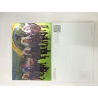 0.6MM PET 3D Lenticular Postcards / 3d animation picture With CMYK Printing Manufactures