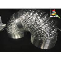 Grow Tent Aluminum Foil Ducting Polyester Sizes Customized Flexible Ducting Manufactures