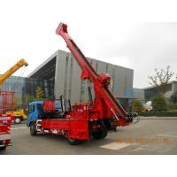 Mechanical Driven Truck Mounted Core Drill Rig  For Bridge , Dam Manufactures