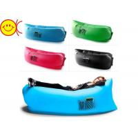 Customized Inflatable Air Sofa Easy Carry With Multicolor Option Manufactures