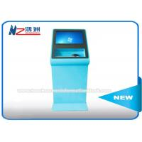 Custom Self Service Library Kiosk With Metal Keyboard For University Education Manufactures