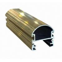 Steel Polished Structural 6061 Aluminum Profile , Wood Grain Coated Extrusion Aluminum Profiles Manufactures