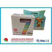 Color Box / Printing Polybag Baby Wet Cleaning wipes Small Promotion Package Manufactures
