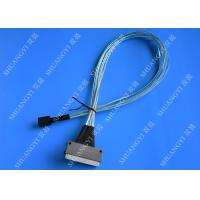 Quality SFF 8087 To SFF 8484 Internal SAS Cable Speed 10Gb Silver Plated Copper Conductor for sale