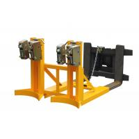 720Kg automatic electrical Stable Forklift Drum Lifter with Two Drums Manufactures
