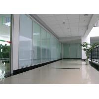 Quality Thermal Break Aluminium Glass Office Partition Walls Waterproof / Fire Prevention for sale