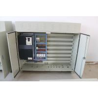 IP55 Schneider Gray Or Black End Carriage Control Panel Of 0.75kw-30kw Inverter Capacity Manufactures