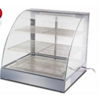 Stainless Steel 304 Tempered Glass Sandwich Display 3-Layer Food Showcase Manufactures