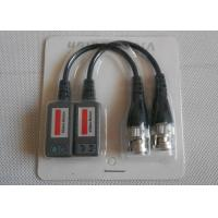 Quality UTP 1CH Passive CCTV Video Balun , Bnc Video Balun With CE RoHS Certificates, Support CVI/AHD for sale