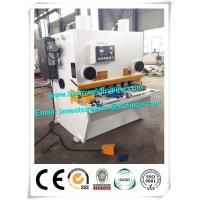 Quality 18.5KW CNC Hydraulic Shearing Machine For Steel Plate 2100 * 1850 * 2200mm for sale