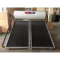 chloride solar water heater with flat plate solar collectors Manufactures