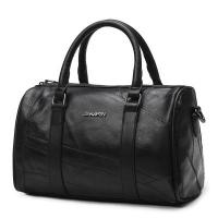 Genuine Leather Fashion Ladies HandBags Black Shoulder With Adjustable Shoulder Strap Manufactures