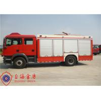 Quality Electronic Speed Limit CAFS Fire Truck 4x2 Drive 9850×2500×3200mm Dimension for sale