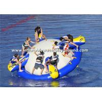 Outdoor Sport Games Inflatable Saturn Rocker 8 People With CE Certificate Manufactures