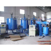 Semi - Automatical PU Sponge Foam Making Machine For Furniture Mattress Manufactures