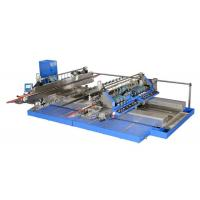 Professional Blue Glass Straight Line , Double Edger Machine High Speed Manufactures