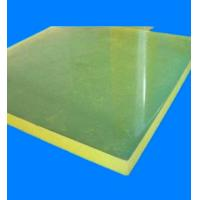 Light Weight PU Sheets Engineering For Plastic Processing Machine Manufactures