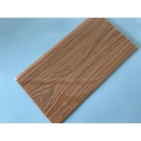 Anti Corrosion PVC Wood Panels For Interior Decoration 7mm / 7.5mm / 8mm Thickness Manufactures