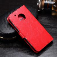 Side - Open Moto G5 Plus Leather Case , Mixed Color PU Leather Wallet Case Manufactures