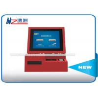 High Brightness Wall Mount Kiosk Card Payment Machine 3G Wireless Internet Connection Manufactures