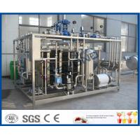 Plc Touch Screen Milk Pasteurization Equipment With Plate Heat Exchanger Manufactures
