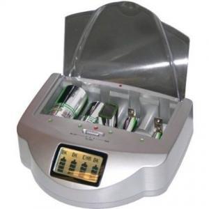 1200mAh 18650 RCR123 AA 18500 Smart Universal Battery Recharger Ni-CAD / Ni-MH Manufactures